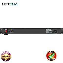 AP-S15A 15A Power Conditioner and Distribution Unit with IEC Power Cord With Free 3 Feet NETCNA HDMI Cable - BY NETCNA