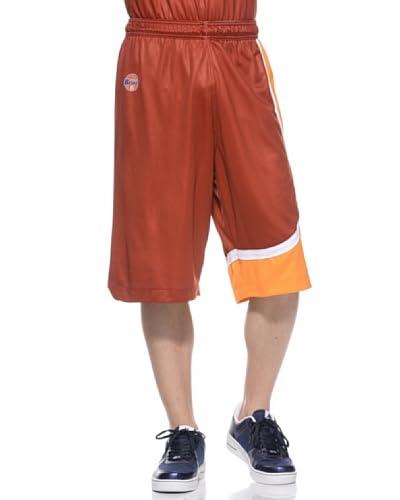 Kappa Pantaloncini Virtus Roma Basket [Rosso/Arancio]