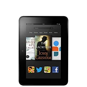 """Kindle Fire HD Tablet 7"""" HD Display, Dolby Audio, Dual-Band Dual-Antenna Wi-Fi, 32GB [Previous Generation]"""