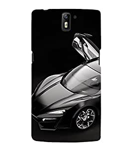 printtech Superfast Car Back Case Cover for OnePlus One / One plus one / Oneplus 1 / One Plus 1
