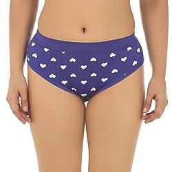 Gujarish Decent Blue Cotton Panties