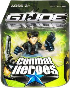 G.I. Joe The Rise of Cobra Combat Heroes Single Pack General Clayton Hawk Abernathy - 1