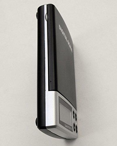 Weiheng WH-DS01 500g/0.01g Mini Balance de bijoux - Balance de haute précision Numérique Portable - Idéale pour peser de l'or, l'argent,bijoux, etc