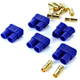 5 Pairs of EC3 Connectors - 5 Male and 5 Female