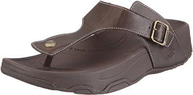 Skechers Tone-Ups Psst, Chaussures bien-être femme - Marron, 36 EU