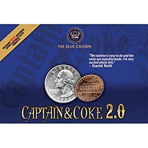 Captain & Coke 2.0 (Magnetic Coins and DVD) by The Blue Crown - Trick