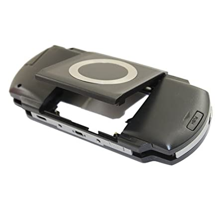 Black Front and Back Faceplate for PSP1000