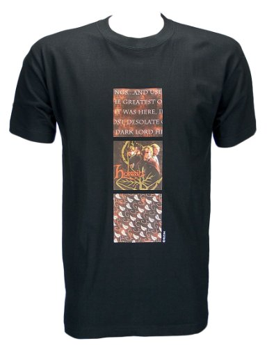 Lord of the Rings T-Shirt Hobbits Taglia XL