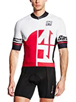 Santini Maillot Ciclismo Fs (Rojo)