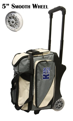 KAZE 2 Ball Bowling Bag Roller Tote