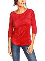 La Belle Francaise Camiseta Manga Larga Noa (Rojo)