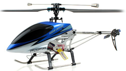 Double Horse 9104 3CH Metal Helicopter with Built-in Gyro