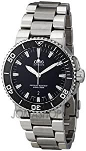 Oris Aquis Date 43 mm Steel Mens Watch 733-7653-4154MB by Oris