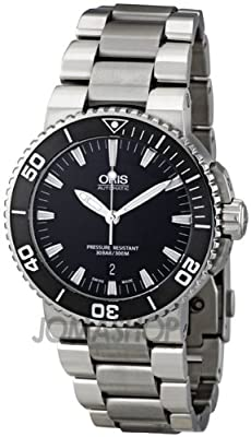 Oris Aquis Date 43 mm Steel Mens Watch 733-7653-4154MB from Oris
