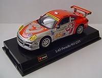 BBurago 1:43 Scale Porsche 911 GT3 Flying Lizard Motorsports Diecast Model Race Car