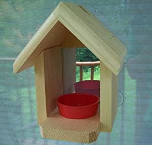 Coveside Window Bird Feeder with 2-way Mirror