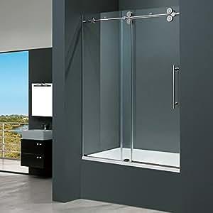 VIGO Elan 60-inch Frameless Tub Door .375-in.