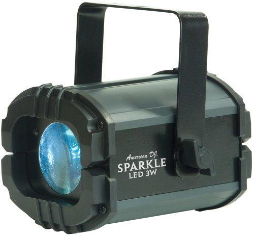 American Dj Sparkle LED 3W Slow Rotating White Led Moonflower Light