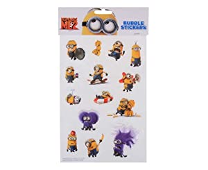 DESPICABLE ME 2 - 3D Large Sticker Sheet - DM2 - MINIONS - GIFTS/CRAFTS