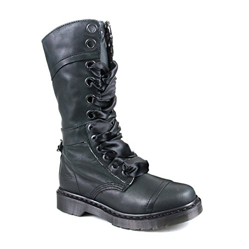 Dr. Martens Women'S 1914 Triumph Black Boot - 3 F(M) Uk / 5 B(M) Us