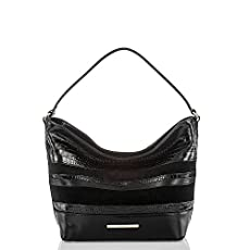 Small Harrison Hobo Bag<br>Black Maddox