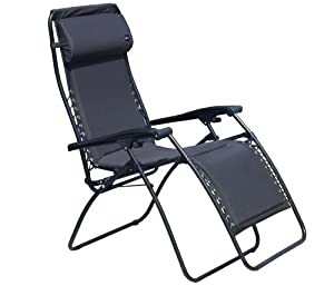 Faulkner Standard Recliner Black Padded With Padded Arms from Faulkner