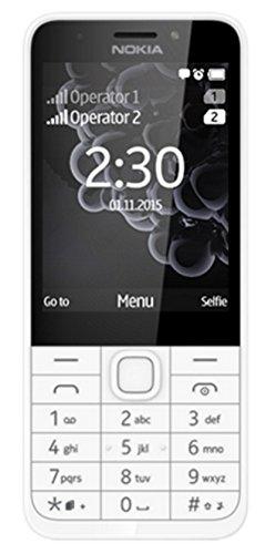 Nokia 230DS Telefono Cellulare, 16 MB, Argento [Italia]