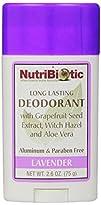 Nutribiotic Deodorant Lavender 2.6 Oz