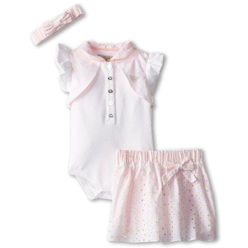 Armani Junior: Baby Girls 3 Piece Gift Set (3M) front-1064497