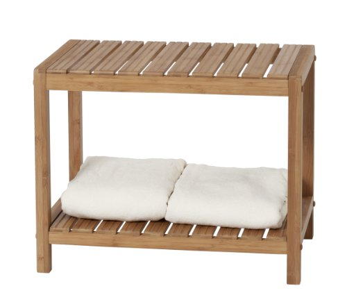CreativeWare Eco Styles Spa Bench (Wood Shower Bench compare prices)