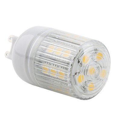 G9 3.5W 27X5050 Smd 300Lm 2800-3200K Warm White Light Led Corn Bulb (230V)