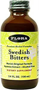 Flora - Swedish Bitters Non-Alcohol - 3.40-Ounce