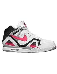 Men's Nike Air Tech Challenge Ii White Hot Lava Black Silver 643089 160 Size 14