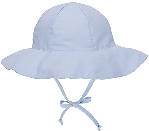 SimpliKids UPF 50+ UV Ray Sun Protection Wide Brim Baby Sun Hat,Light Blue,12-24 Months (Solid Brim Sun Protection Hat compare prices)