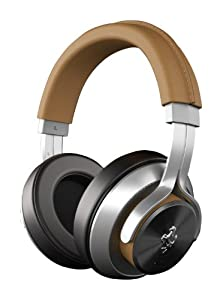 Ferrari AAV-1LFH009T Cavallino T350 Active Noise-Cancelling Headphones - Tan (Discontinued by Manufacturer)