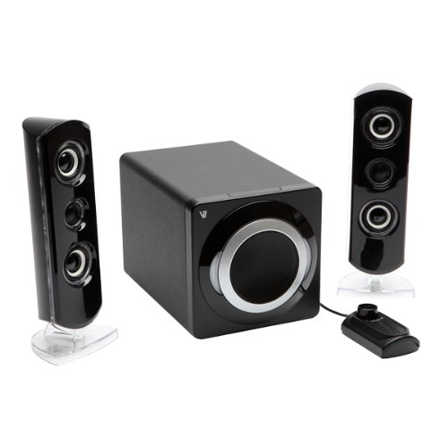 V7 A621V-E5 2.1 PC-Lautsprechersystem (18 Watt) schwarz