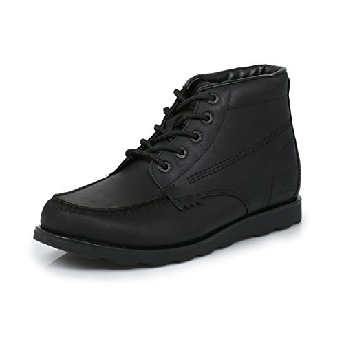 Kickers BootsWebbfzacharydah Leather Mens Black Urbo kuPXZi