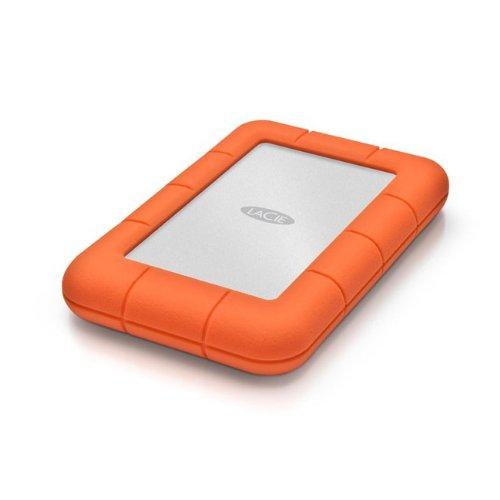 LaCie Rugged Mini USB 3.0/ USB 2.0 500GB Hard Disk Drive - 5400rpm