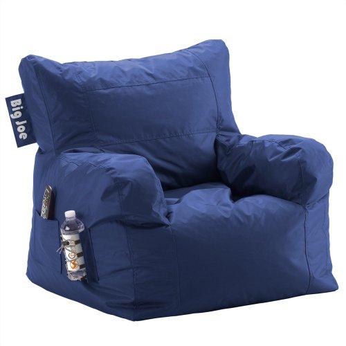 Big Joe Dorm Chair, Sapphire front-930104