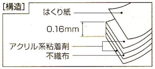 ニトムズ はがせる両面 強力接着用 T3830 15mm×10M