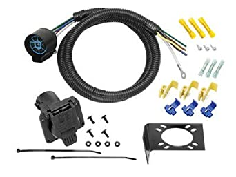 tractor trailer wiring harness amazon.com: 7-way trailer wiring harness u.s. tractor ... #3