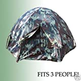 Rothco 3-Person Dome Camouflage Tent, Outdoor Stuffs