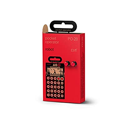 Teenage Engineering TE010AS028A PO-28 Robot Pocket Operator from Cascio Interstate Music