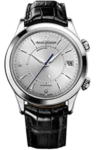 Jaeger LeCoultre Mens Master Memovox Watch Q1418430 by Jaeger LeCoultre