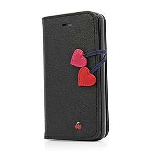 F9Q Cherry Série Flip Cuir Affaire Soft TPU Couvrir Etui Housse pour Samsung Galaxy S3 i9300 Livré avec suivi nombre et un cadeau gratuit
