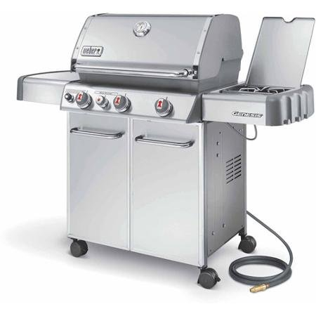 Weber Genesis S-330 Natural Gas Grill, Stainless