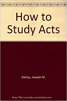 GUIDE STUDY ACTS OF BOOK