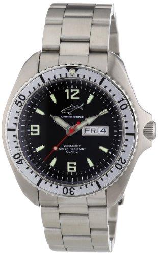 Chris Benz Men's Quartz Watch CBO.SI.MB.SW with Metal Strap