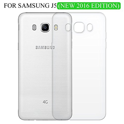 Soft Silicon Back Case Cover for Samsung Galaxy J5 (2016) J510.