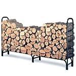 Landmann 82433 8-Foot Firewood Log Ra...